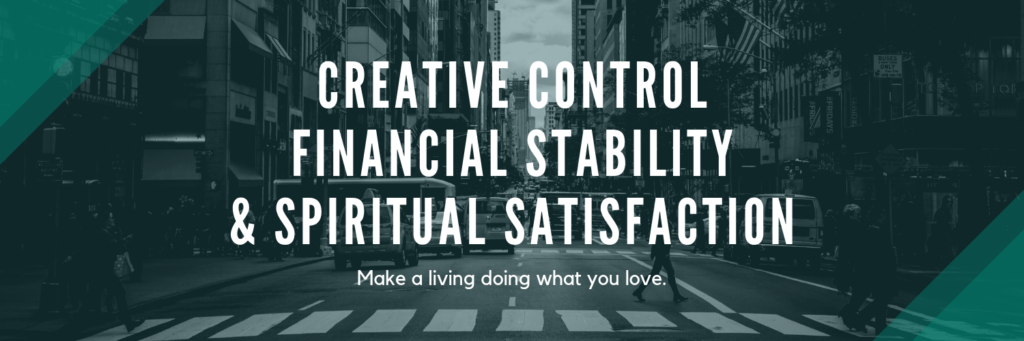Daniel Warren Hill and the 3 Keys to Success: Creative Control, Financial Stability, and Spiritual Satisfaction. Make money doing more of what you love.