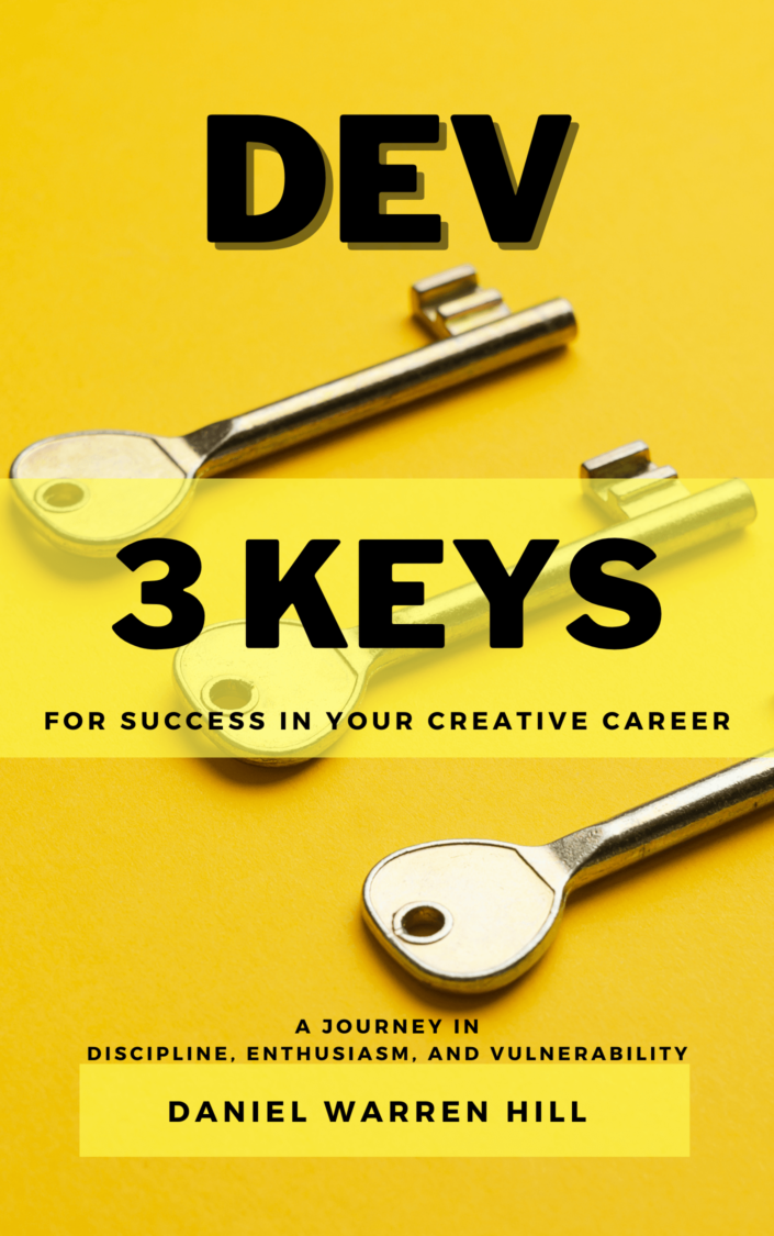 Cover art for DEV: 3 Keys For Success In Your Creative Career